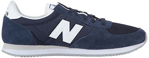 New Balance  U220  women's Shoes (Trainers) in blue Image 7