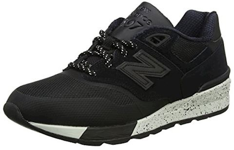 New Balance  ML597  men's Shoes (Trainers) in Black Image
