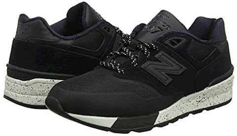 New Balance  ML597  men's Shoes (Trainers) in Black Image 5