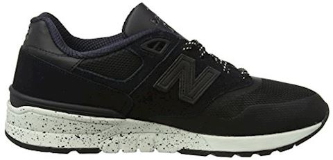 New Balance  ML597  men's Shoes (Trainers) in Black Image 6