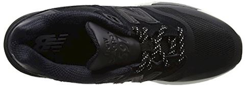 New Balance  ML597  men's Shoes (Trainers) in Black Image 7