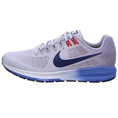 Nike Air Zoom Structure 21 Men's Running Shoe - Grey Image 2