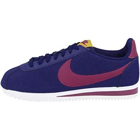 5d70f4841c Nike Wmns Classic Cortez Leather Blue Void/ True Berry-Dark Citron-White  Image
