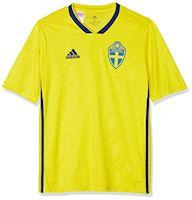 8dab55266 adidas Sweden Kids SS Home Shirt 2018