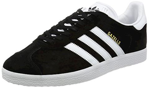 adidas Gazelle Suede Mens Trainers Black/White Image