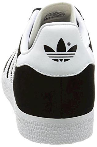 adidas Gazelle Suede Mens Trainers Black/White Image 2