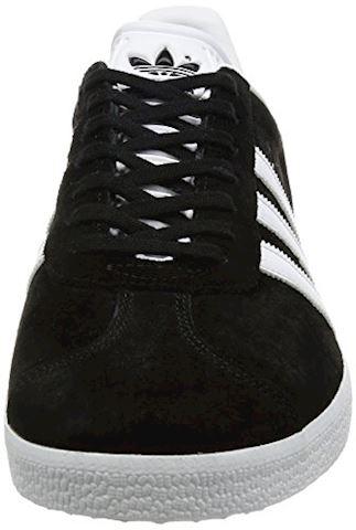 adidas Gazelle Suede Mens Trainers Black/White Image 4