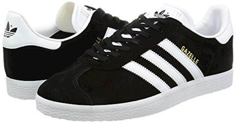 adidas Gazelle Suede Mens Trainers Black/White Image 5