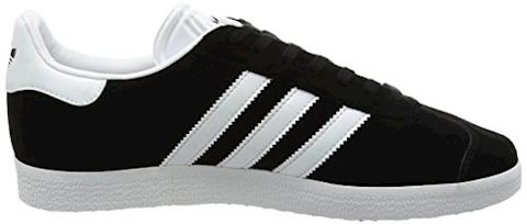 adidas Gazelle Suede Mens Trainers Black/White Image 6