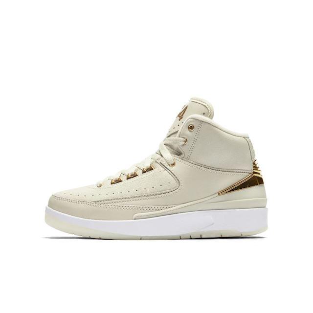 info for 218c8 743dd Nike Air Jordan 2 Q54 Big Kids' Shoe (3.5y-7y) - Cream