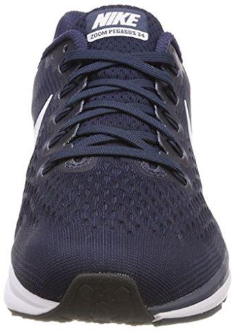 Nike Air Zoom Pegasus 34 Men's Running Shoe - Blue Image 4