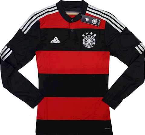 adidas Germany Kids LS Player Issue Away Shirt 2014 Image