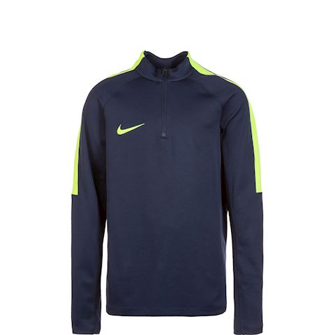 Nike Training Shirt Midlayer Squad 17 Drill Top II - Obsidian/Volt Kids Image