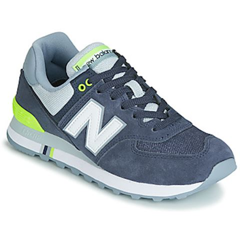 045513537 New Balance ML574 women's Shoes (Trainers) in Blue | ML574TFL ...
