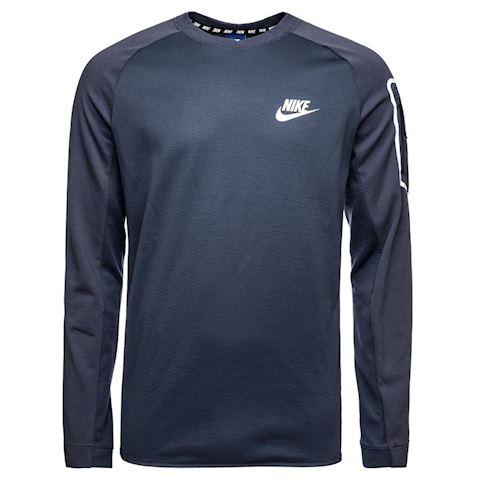 Nike Sweatshirt NSW Advance 15 Fleece - Thunder Blue/White