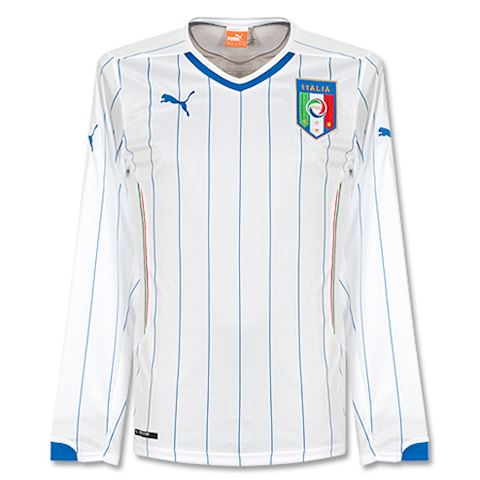 Puma Italy Mens LS Away Shirt 2014