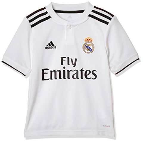 new concept 129e0 e2de6 adidas Real Madrid Kids SS Home Shirt 2018/19