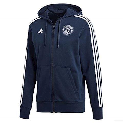 adidas Manchester United Hoodie FZ HD 3S - Conavy/White