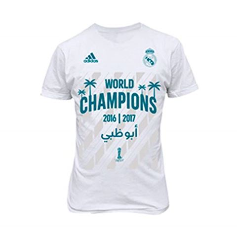 quality design 9e781 30f15 adidas Real Madrid T-Shirt Club World Cup winner 2016/17 - White