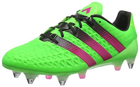 adidas ACE 161 SG Solar Green Shock Pink Core Black Image