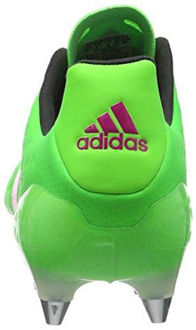 adidas ACE 161 SG Solar Green Shock Pink Core Black Image 2