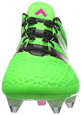 adidas ACE 161 SG Solar Green Shock Pink Core Black Image 4