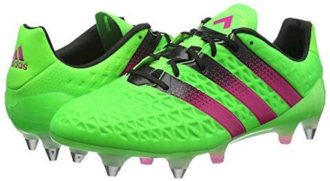 adidas ACE 161 SG Solar Green Shock Pink Core Black Image 5