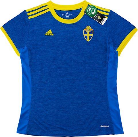 adidas Sweden Womens SS Away Shirt 2018 Image