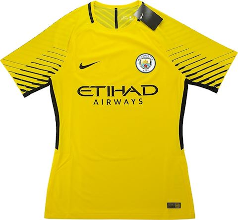 Nike Manchester City Mens SS Goalkeeper Player Issue Away Shirt 2017/18 Image