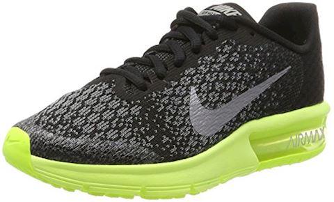 8e350ae96ed46 Nike Air Max Sequent 2 - Black Volt Anthracite Kids Image