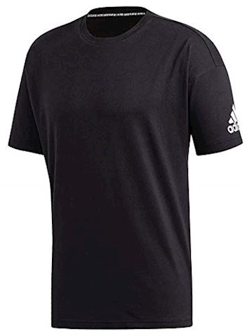dccb9583 adidas T-Shirt Must Haves Plain - Black/White | DT9908 | FOOTY.COM