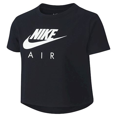Nike Air Older Kids' (Girls') Crop Top - Black Image