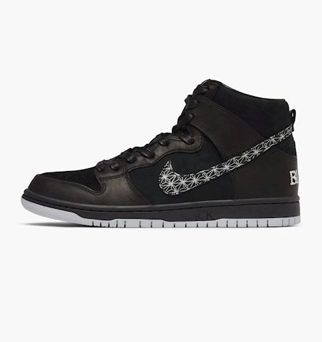 Nike SB Zoom Dunk High Pro Men's Skateboarding Shoe - Black Image