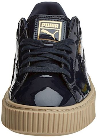 Puma Basket Platform Patent Women's Trainers Image 4