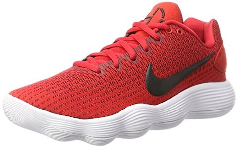Nike React Hyperdunk 2017 Low Men's Basketball Shoe - Red Image