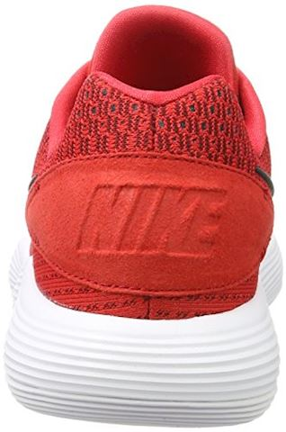 Nike React Hyperdunk 2017 Low Men's Basketball Shoe - Red Image 2