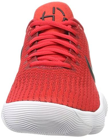 Nike React Hyperdunk 2017 Low Men's Basketball Shoe - Red Image 4