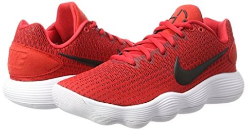 Nike React Hyperdunk 2017 Low Men's Basketball Shoe - Red Image 5