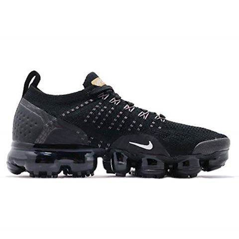 Nike Air VaporMax Flyknit 2 Women's Shoe - Black Image 2