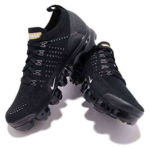 Nike Air VaporMax Flyknit 2 Women's Shoe - Black Image 7