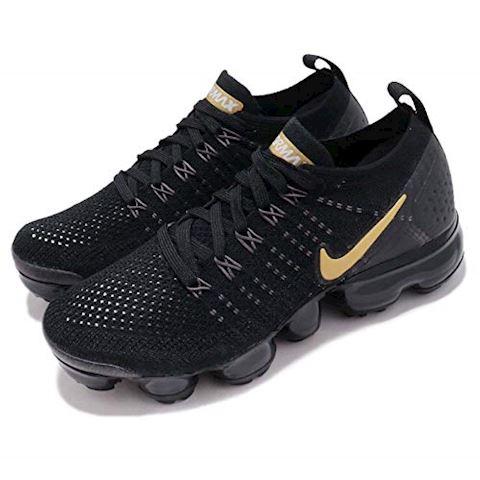 Nike Air VaporMax Flyknit 2 Women's Shoe - Black Image 8