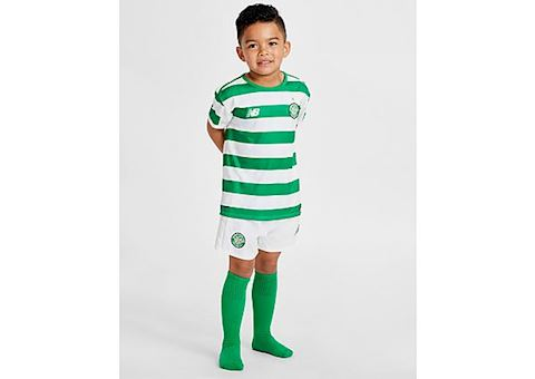 New Balance Celtic Kids SS Home Mini Kit 2018/19 Image