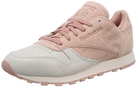 Reebok Classic  CLASSIC LEATHER NBK  women's Shoes (Trainers) in Pink Image