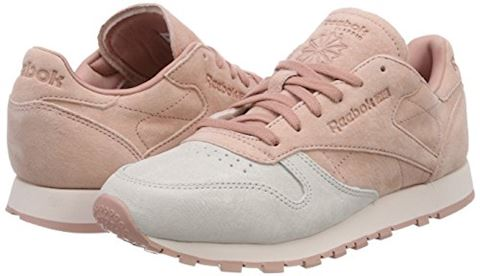 Reebok Classic  CLASSIC LEATHER NBK  women's Shoes (Trainers) in Pink Image 5