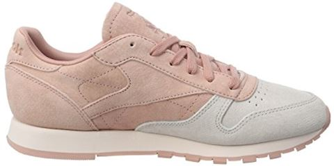 Reebok Classic  CLASSIC LEATHER NBK  women's Shoes (Trainers) in Pink Image 6
