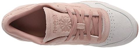 Reebok Classic  CLASSIC LEATHER NBK  women's Shoes (Trainers) in Pink Image 7