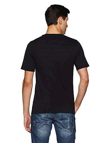 New Balance  TEE SHIRT LOGO  men's T shirt in Black Image 2