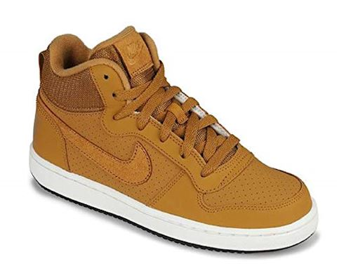 new styles 0fd39 9bf75 NikeCourt Borough Mid Younger Kids Shoe - Brown Image