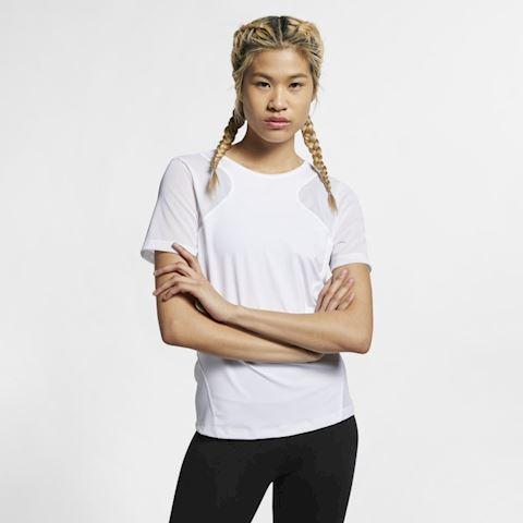 Nike Pro HyperCool Women's Short-Sleeve Top - White Image