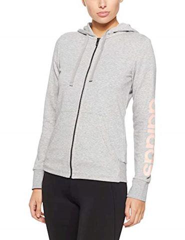 adidas Essentials Linear Full Zip Hoodie Image